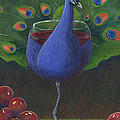 Peacock Pinot by Debbie McCulley