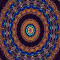 Peacock Pinwheel by Bel Menpes