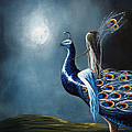Peacock Princess By Shawna Erback by Artisan Parlour
