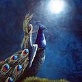 Peacock Princess II By Shawna Erback by Shawna Erback