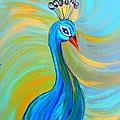 Peacock Vii by Kruti Shah