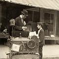 Peanut Vendor, 1910 by Granger