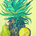 Pear And Pineapple by Eloise Schneider Mote