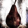Pear In Window by Carol Leigh