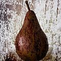 Pear On The Rocks by Carol Leigh