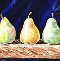 Pear Pear And A Pear by Irina Sztukowski