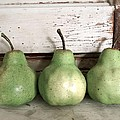 Pear Trio by Angie Mahoney