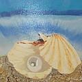 Pearl In A Shell by Vladimir Shevchenko