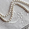 Pearls And Old Linen by Barbara Griffin
