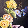 Pearls And Roses by Joni McPherson