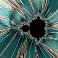Pearly Mandelbrot by Hakon Soreide