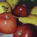 Pears And Apples by Natasha Denger