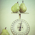 Pears And Kitchen Scale Still Life by Edward Fielding