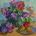 Pears And Roses by Diane McClary