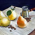 Pears by Irina Sztukowski