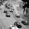 Pebble Beach California Sports Car Races Auto Road Race April 11 1954 by California Views Archives Mr Pat Hathaway Archives