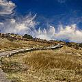 Pecos Pueblo Walkway by Bill Barber