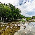 Pedernales River - Downstream by David Morefield