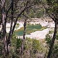 Pedernales River Pool In August by JG Thompson