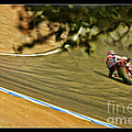 Pedrosa Though The Trees by Blake Richards