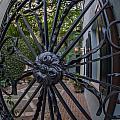 Peek Into Courtyard by Dale Powell