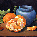 Peeled Orange by Donna Tucker