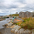 Peggy's Cove 12 by Betsy Knapp