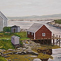 Peggy's Cove by Alan Mager
