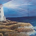 Peggy's Cove by Donna Bird