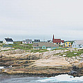 Peggys Cove by Gene Norris