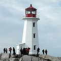 Peggy's Cove Light House by Nicki Bennett