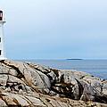 Peggy's Cove Light II by Dan Dooley