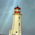 Peggy's Cove Lighthouse 2 by Lydia Holly