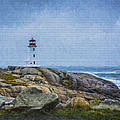 Peggy's Cove Lighthouse by James Gamble