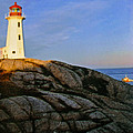 Peggy's Cove Lighthouse by Lydia Holly