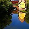 Pegnitz River In Nuremberg by Benjamin Reed