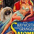 Pekingese Art - Salome Movie Poster by Sandra Sij