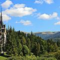 Peles Castle by Sally Weigand