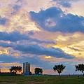Lakeway Pelican Cloud by Deborah Lacoste