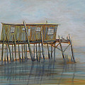 Pelican House In Cedar Kay by Patty Weeks