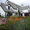 Pelican Inn Garden by Richard Reeve