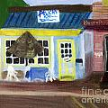 Pelican Restaurant On Lake Ave In Lake Worth Florida by Donna Walsh