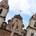 Pelourinho Church by Stephanie Guinn