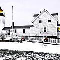 Pemaquid Lighthouse by Brenda Giasson