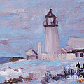 Pemaquid New Years by Alicia Drakiotes