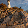 Pemaquid Point Light I by Clarence Holmes