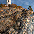 Pemaquid Point Light II by Clarence Holmes