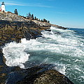 Pemaquid Point Lighthouse 1 by Joseph Marquis