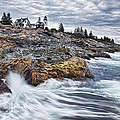 Pemaquid Point Lighthouse by Linda D Lester