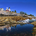 Pemaquid Point Lighthouse by Marcia Colelli